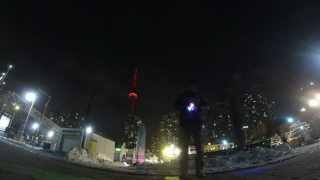 Light Painting At Harbour Front GoPro Hero 3 Black