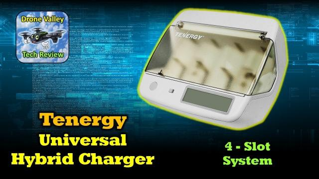 Tenergy TN299 Universal Battery Charger - It Charges Everything!
