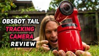 WORLD'S FIRST CAMERA THAT TRACKS YOUR MOVEMENT! OBSBOT TAIL REVIEW! | MicBergsma