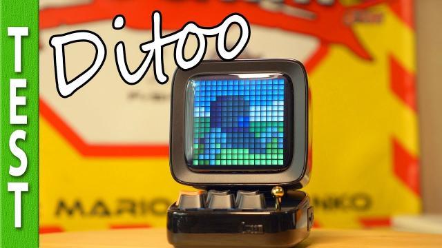 Ditoo: Retro pixelart/MP3 speaker from Divoom