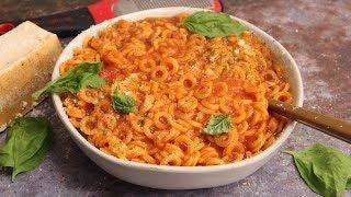 DIY 'SpaghettiOs'