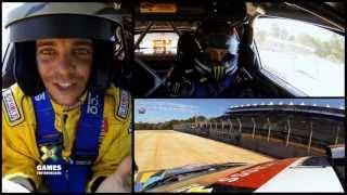 GoPro: Ken Block and Ryan Sheckler RallyCross Course Preview - Summer X Games 2013 Brazil
