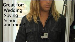 Hidden Chest Harness Mount - GoPro Tip #167