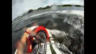 Crazy GoPro Jet Ski Wipeout