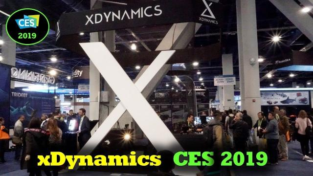 CES 2019 - xDynamics Interview and Evolve Drone Discussions