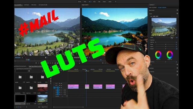 Why is Drone LUT not working on Adobe Premiere Pro? //#MAIL- 105