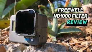 Freewell ND1000 Filter REVIEW! DJI MAVIC/PHANTOM + GOPRO + MORE!