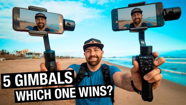 Smartphone Gimbal Comparison - FeiyuTech G6 Plus vs Freevision Vilta vs FunBlue