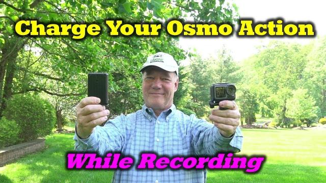 Extend Your Osmo Action Recording Time With A Powerbank