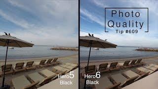 GoPro Hero5 vs Hero6 Photo Quality Comparison - GoPro Tip #609