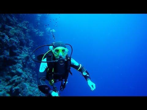Dahab Bells To Blue Hole -  Diving With Gopro Hero 4 Silver Plus Red Filter