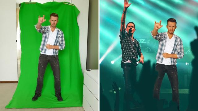 CHEAP (BUT AWESOME) GREEN SCREEN SETUP FOR YOUTUBE CREATORS!