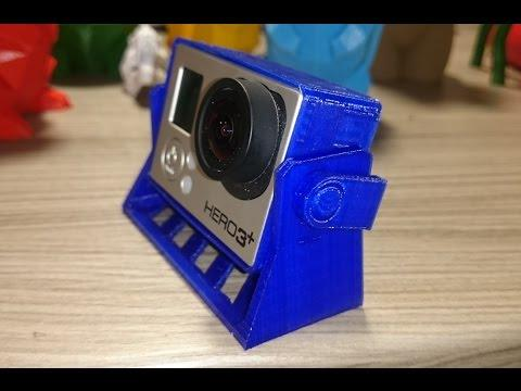 3D Printing A GoPro Holder On The Ultimaker 2