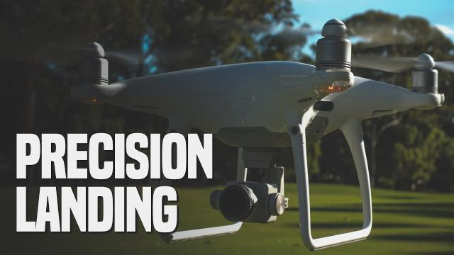Precision Landing with DJI Phantom 4 Pro