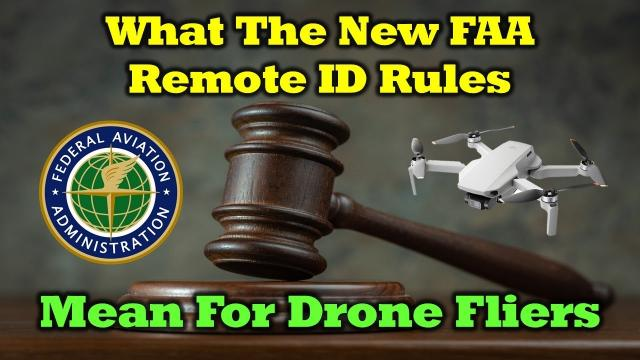What The New FAA Rules Mean For Drone Fliers