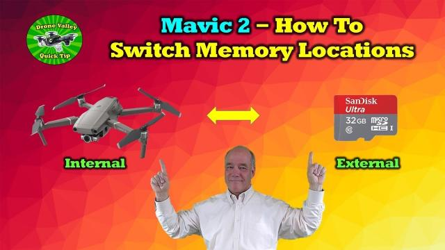 How To Switch Memory Recording Location On DJI Mavic 2