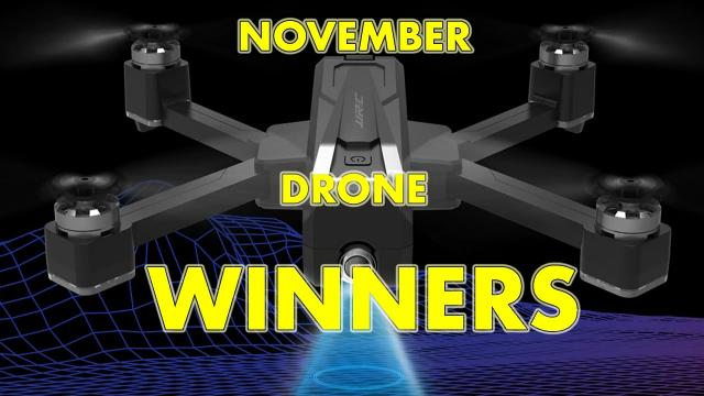 Winners Announced for the NOVEMBER Geekbuying Giveaway Contest