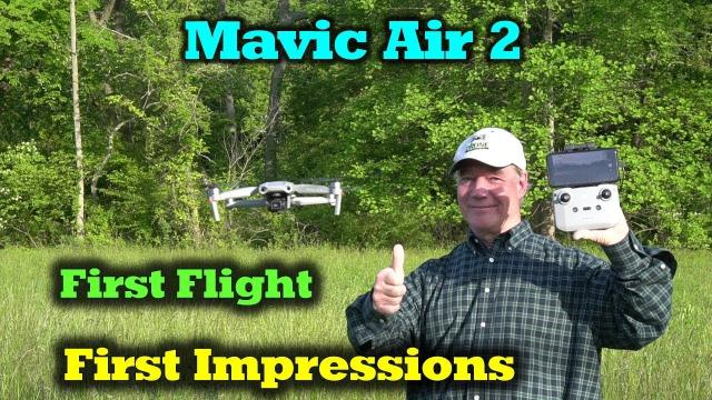 Mavic Air 2 - First Flight and Impressions - Incredible!