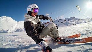 GoPro: Kite Skiing with Damien Leroy