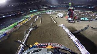 GoPro: Ken Roczen's Winning Run - 2015 Monster Energy Supercross Anaheim Round 2