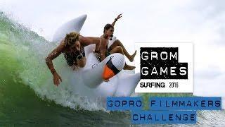 GoPro Surf: Grom Games 2016 - Teaser Trailer