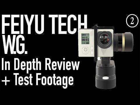 FEUYU TECH WEARABLE GIMBAL - In Depth Review & Test Footage | WHAT THE GEAR?!