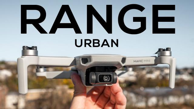 DJI Mavic Mini Urban Range & Interference Test (vs. Mavic Air & Spark)