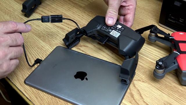 DJI Spark  - DJI Mavic Pro On The Go Adapter