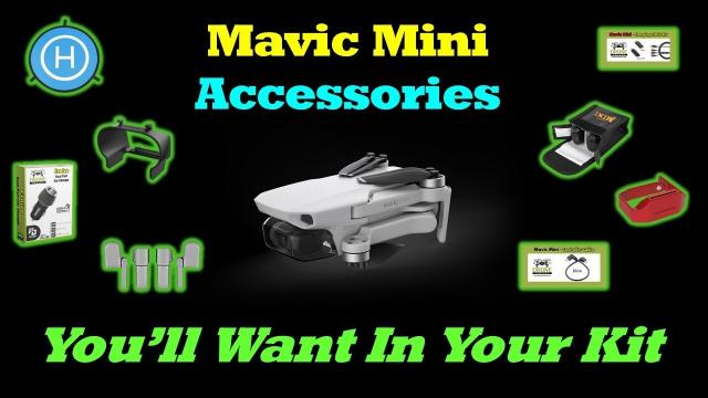 Mavic Mini - 10 Awesome Accessories You''ll Want In Your Kit