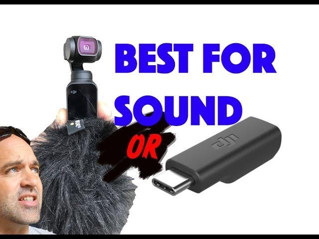 DJI Osmo Pocket External 3.5mm adapter+Ext MIc..Or just get a DEADCAT ?