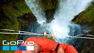 GoPro Awards: Highlining Over Waterfalls in the Pacific Northwest