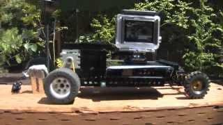 GoPro Hero3 Camera Tracking Car