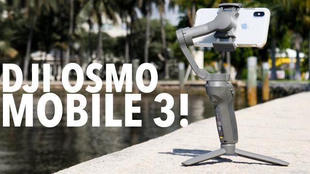 DJI OSMO MOBILE 3! ULTIMATE GIMBAL FOR YOUR PHONE!