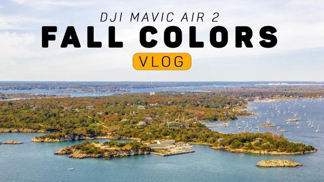 Capturing The Fall Colors With My DJI Mavic Air 2