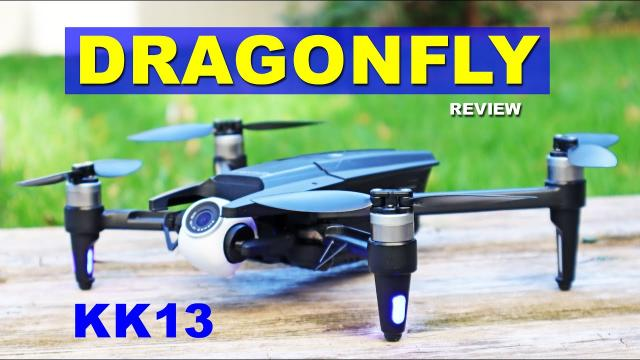 KK13 Dragonfly is a budget Parrot Anafi Drone - Had potential until it fell out of the sky twice