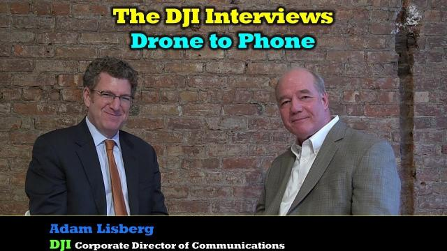 The DJI Interviews - Drone To Phone Application Discussed in Detail