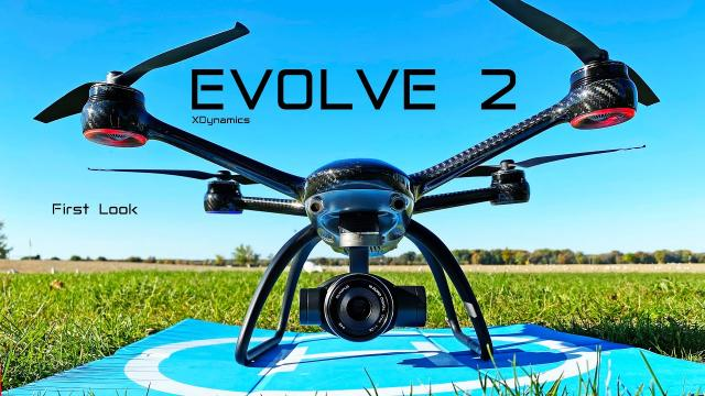XDynamics EVOLVE 2 Professional Camera Drone - First Look