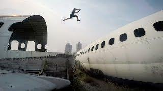 GoPro: Freerunning Bangkok's Airplane Graveyard with Jason Paul