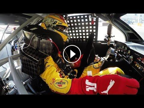 Gopro Joey Logano 39 S Penske Test Day At Bristol Motor Speedway