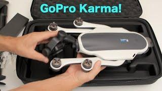 GoPro Karma with Hero5 Black Unboxing - GoPro Tip #564