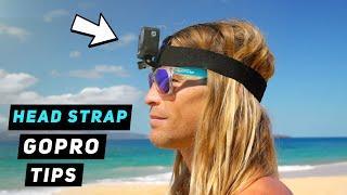 GoPro Head Strap / Helmet Mount Tips - GoPro Tip #676 | MicBergsma