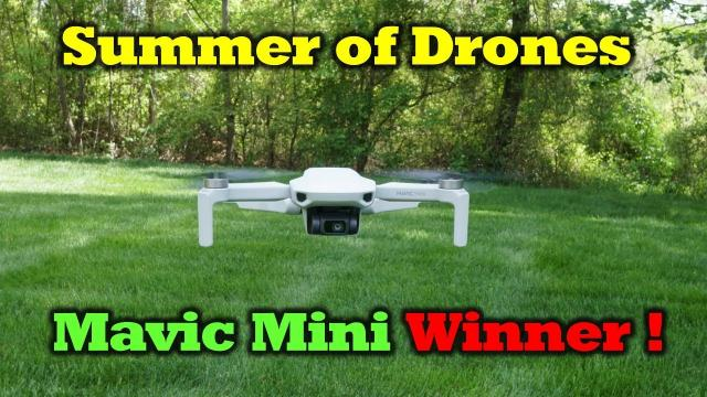 Mavic Mini - Giveaway Winner!