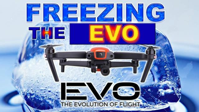 FREEZING The Autel EVO.  Will it fly with a frozen battery?