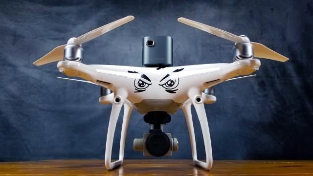 Video Projector Drone - Will it FLY?