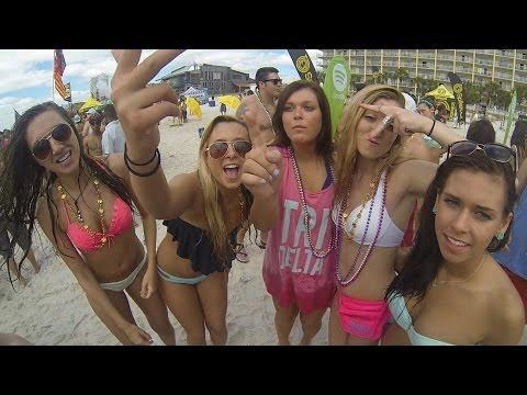 0402 GoPro Panama City Beach Spring Break 2014 HD
