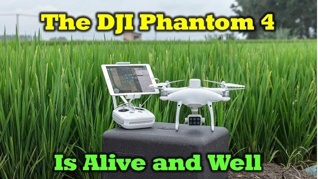 New DJI P4 Multispectral Drone - The Phantom Series Is Alive And Well
