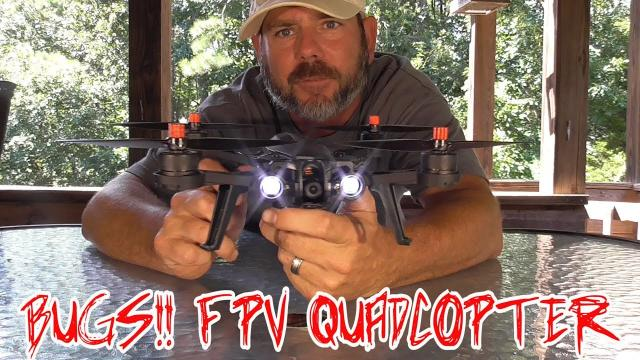 I GOT BUGS!!! Banggood FPV RACER DRONE QUADCOPTER