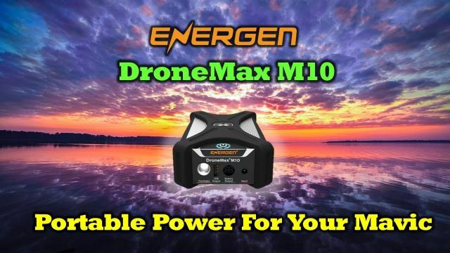 The Perfect Portable Mavic Charging Station - Energen DroneMax M10 Review