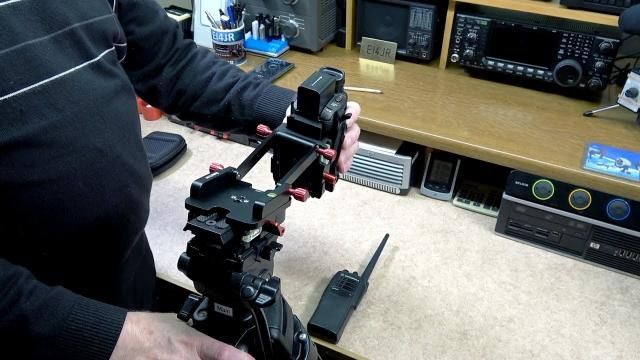 Koolertron Z Foldable Camera Bracket Flex Tilt Head