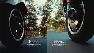 GoPro Hero6 STABILIZATION Comparison on SCOOTERS (with Hero5) GoPro Tip #599